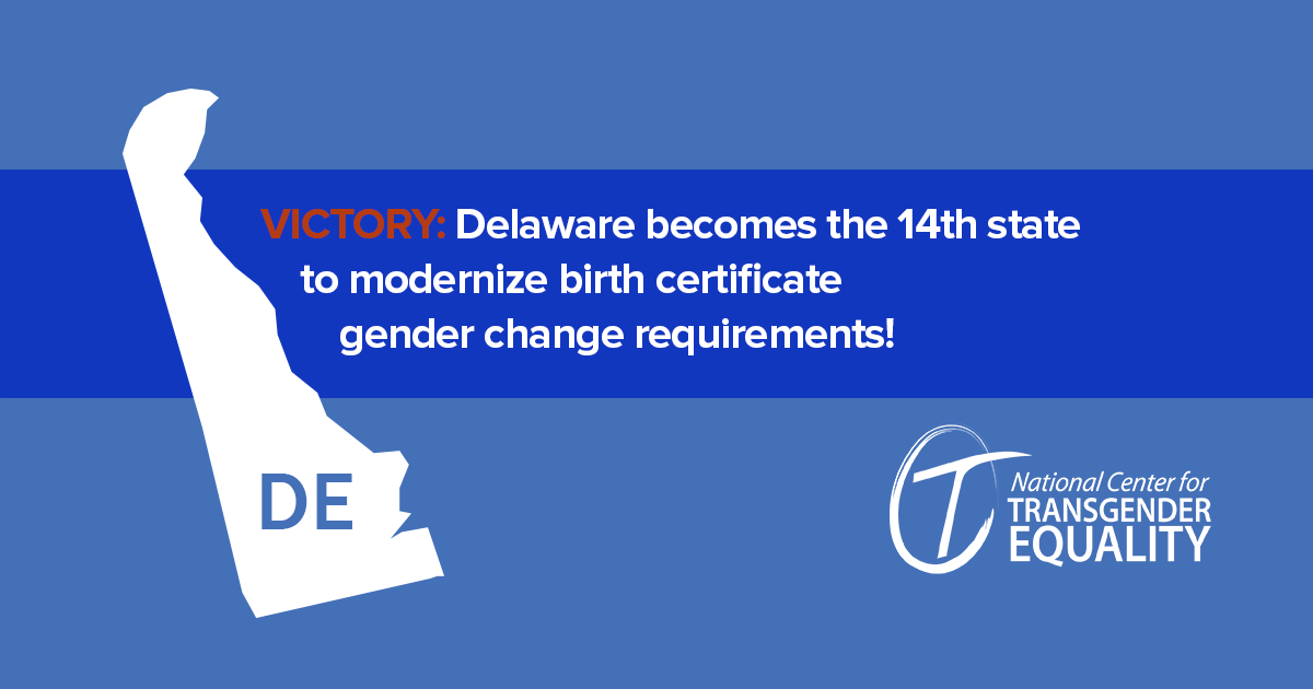 Victory Delaware Becomes The 14th State To Modernize Birth