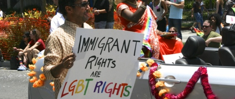 Gay and lesbian immigration